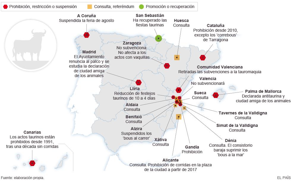 Fiestas taurinas en España