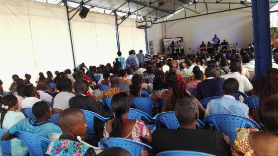 Sesiones de formación de e-observadores en Guinea-Conakry