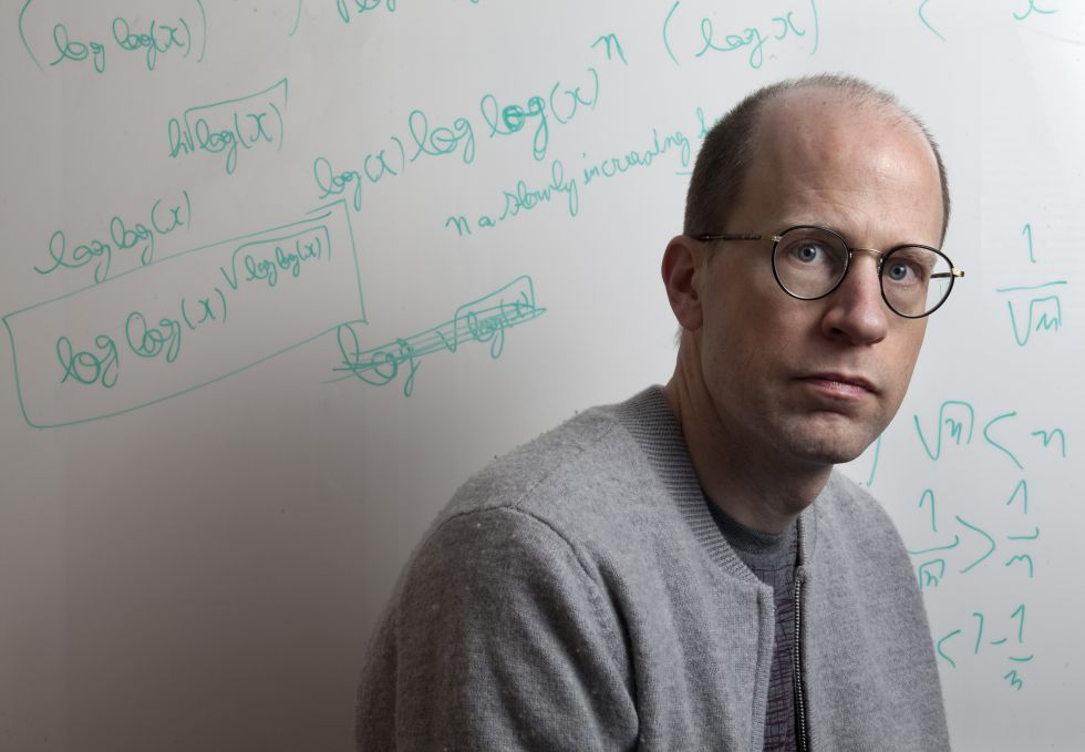 Nick Bostrom, no Instituto do Futuro da Humanidade.