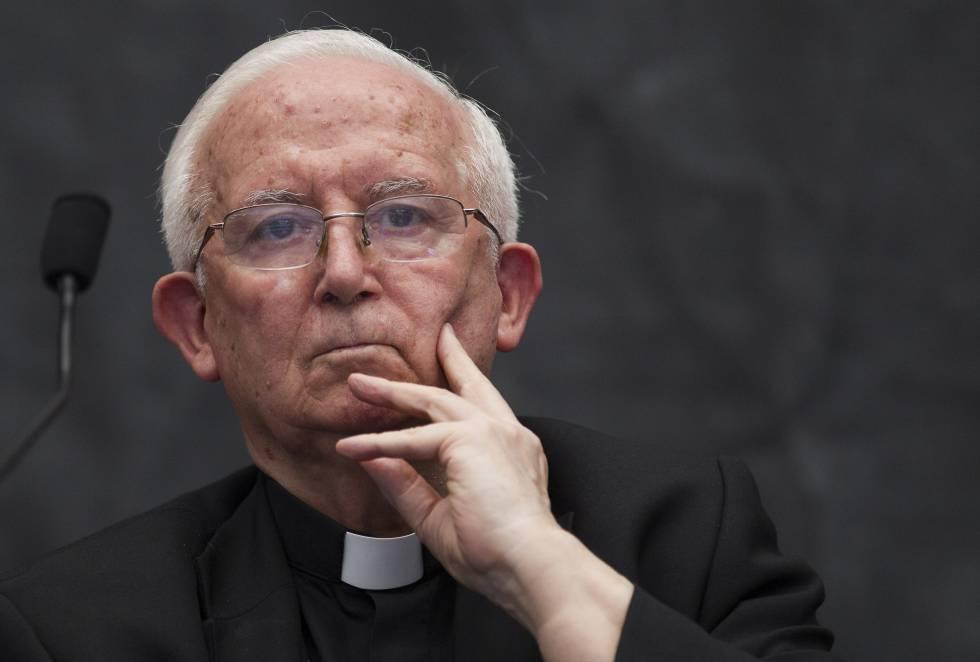 El cardenal arzobispo de Valencia, Antonio Cañizares.