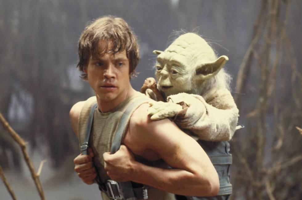 """Yoda, sábio, disse a Luke que quando te falam """"tentarei"""" é a maior covardia que se pode demonstrar. Em 'Guerra das Estrelas' (1977)."""