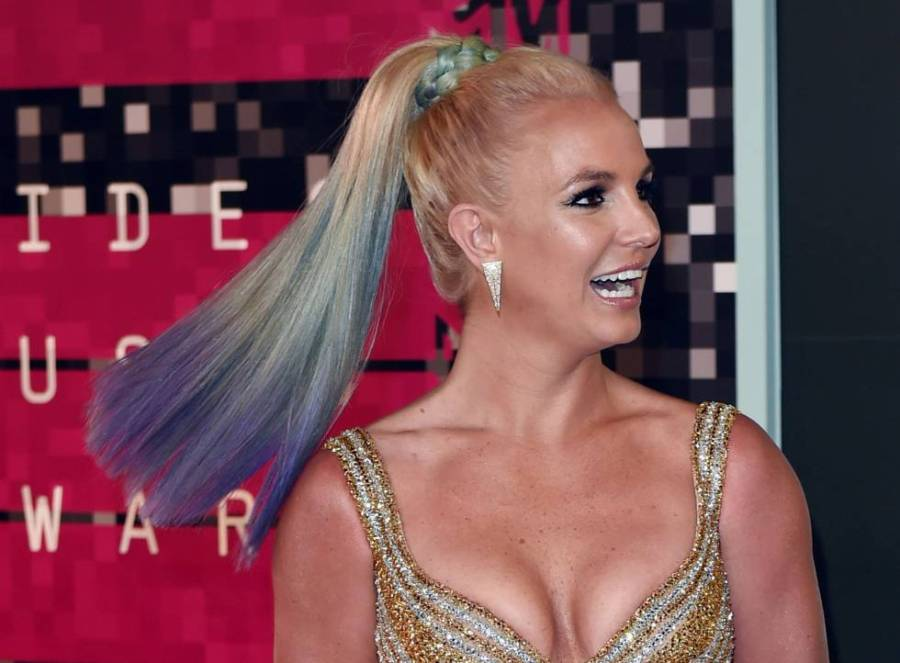 Britney Spears, a la que se dio por muerta después de que hackearan la cuenta de Twitter de Sony esta semana, el pasado agosto.