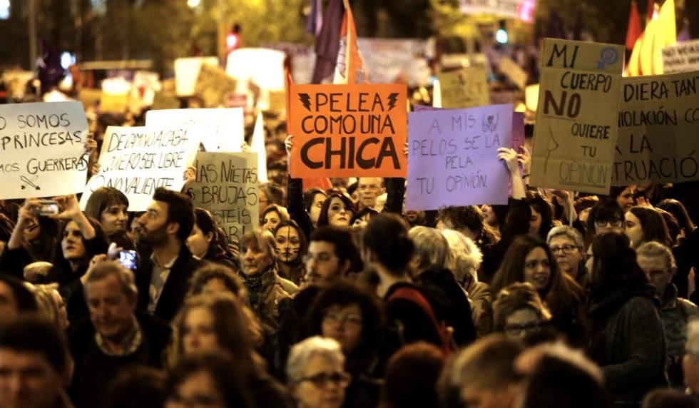 Resultado de imagen de manifestaciones 8 de marzo