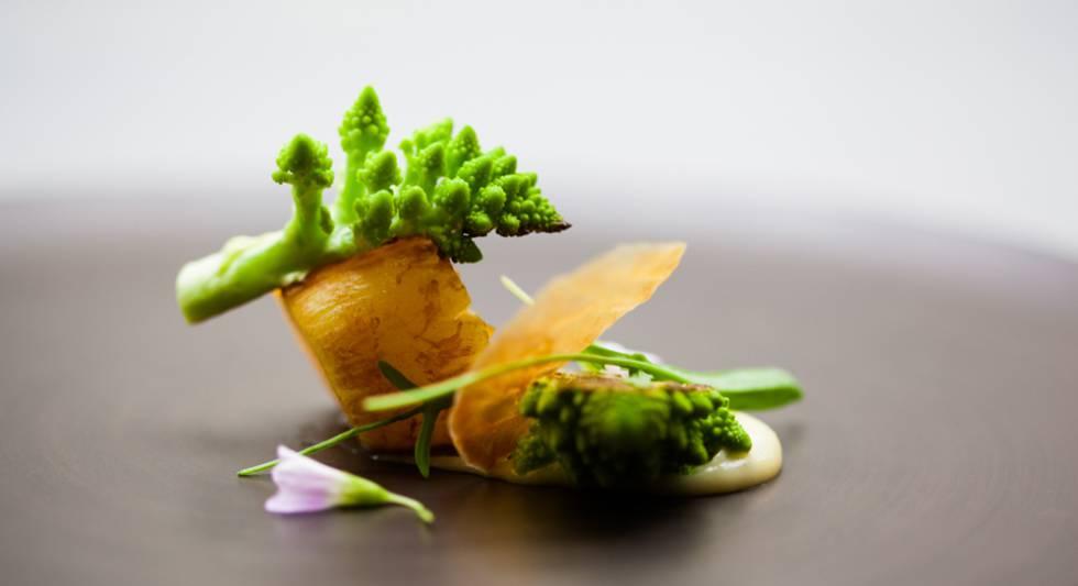David Toutain en el vrtice de la moderna cocina francesa
