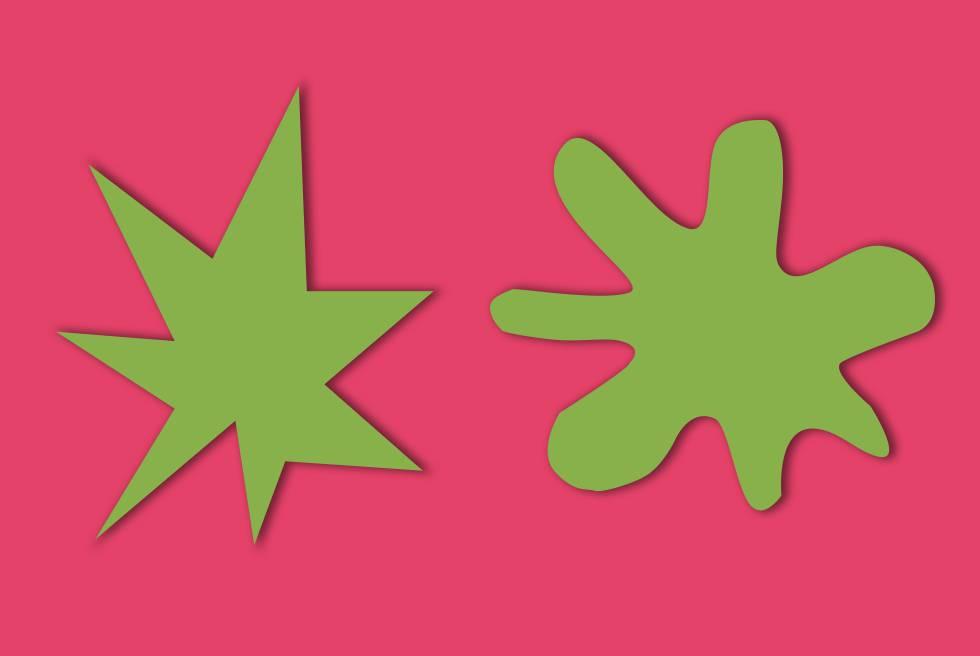 ¿Cuál de estas dos figuras se llama Bouba? ¿Y Kiki? El 95% de la gente responde lo mismo