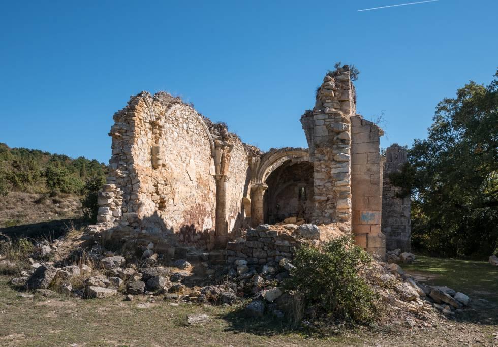 Ochate sufrió tres epidemias seguidas a finales del siglo XIX que acabaron con la vida de prácticamente todos sus habitantes.