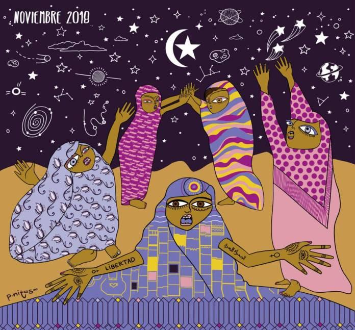 La ilustración de noviembre de 2018.