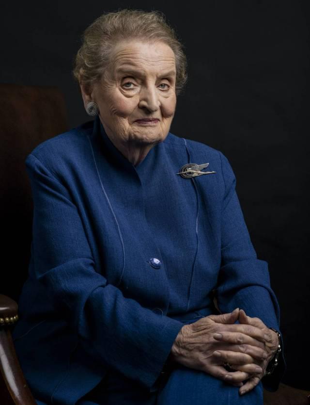 "Madeleine Albright: ""Un fascista es un matón con ejército"""