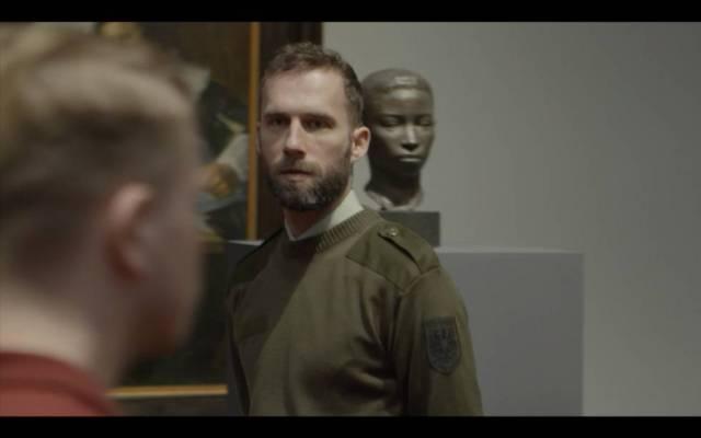 Reinterpretación del artista Arnoud Holleman de la película 'Musee Hom' de Cadinot.
