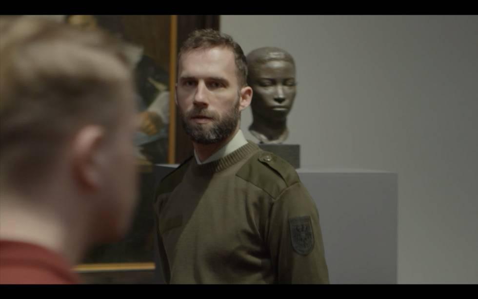 Reinterpretação do artista Arnoud Holleman do filme 'Musée Hom', de Cadinot.