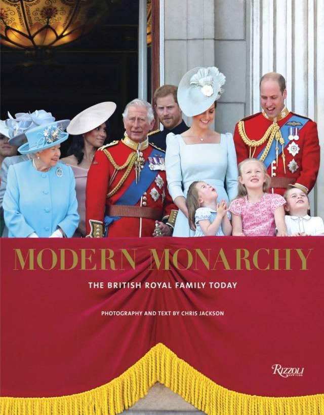 La portada del libro de Chris Jackson 'Modern Monarchy'.