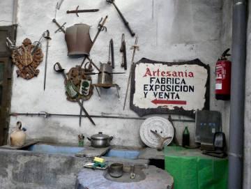El taller de Mariano.