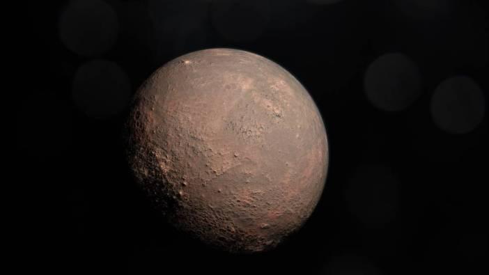 Reconstrucción del planeta b, el más cercano a la estrella.