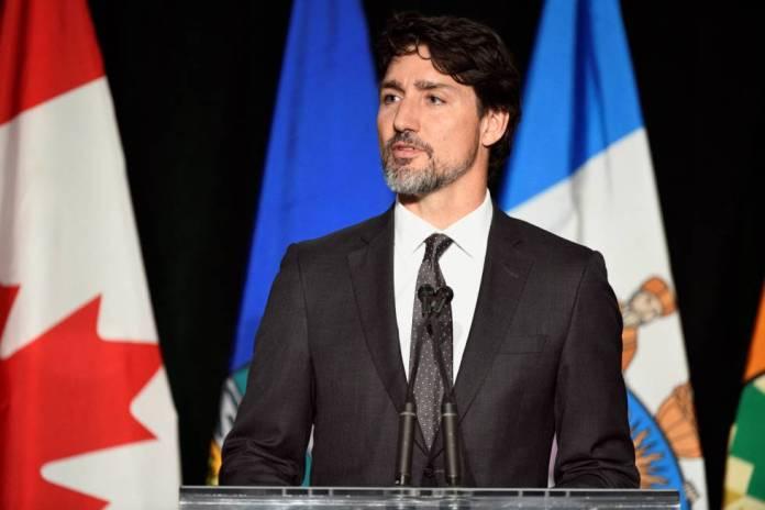 Justin Trudeau, el pasado fin de semana.
