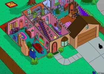 Los planos más rigurosos de la casa de Los Simpson