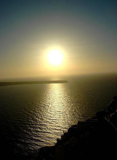 El atardecer ms bello del mar Egeo  El Viajero  EL PAS