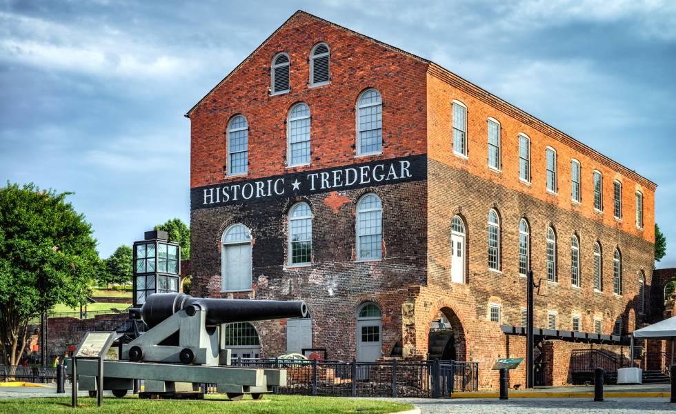 Edificio que acoge el Museo de la Guerra Civil, en Richmond (Virginia).