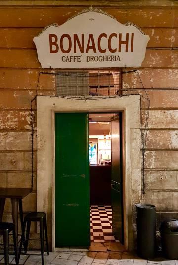 El café Bonacchi, en Matera (Italia).