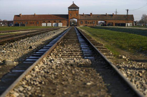 El campo de exterminio nazi de Auschwitz-Birkenau, en Polonia.