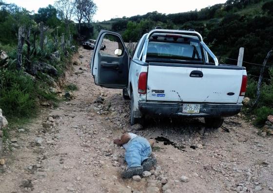 Un cadáver de un familiar del exjefe de policía en Chilapa, Guerrero