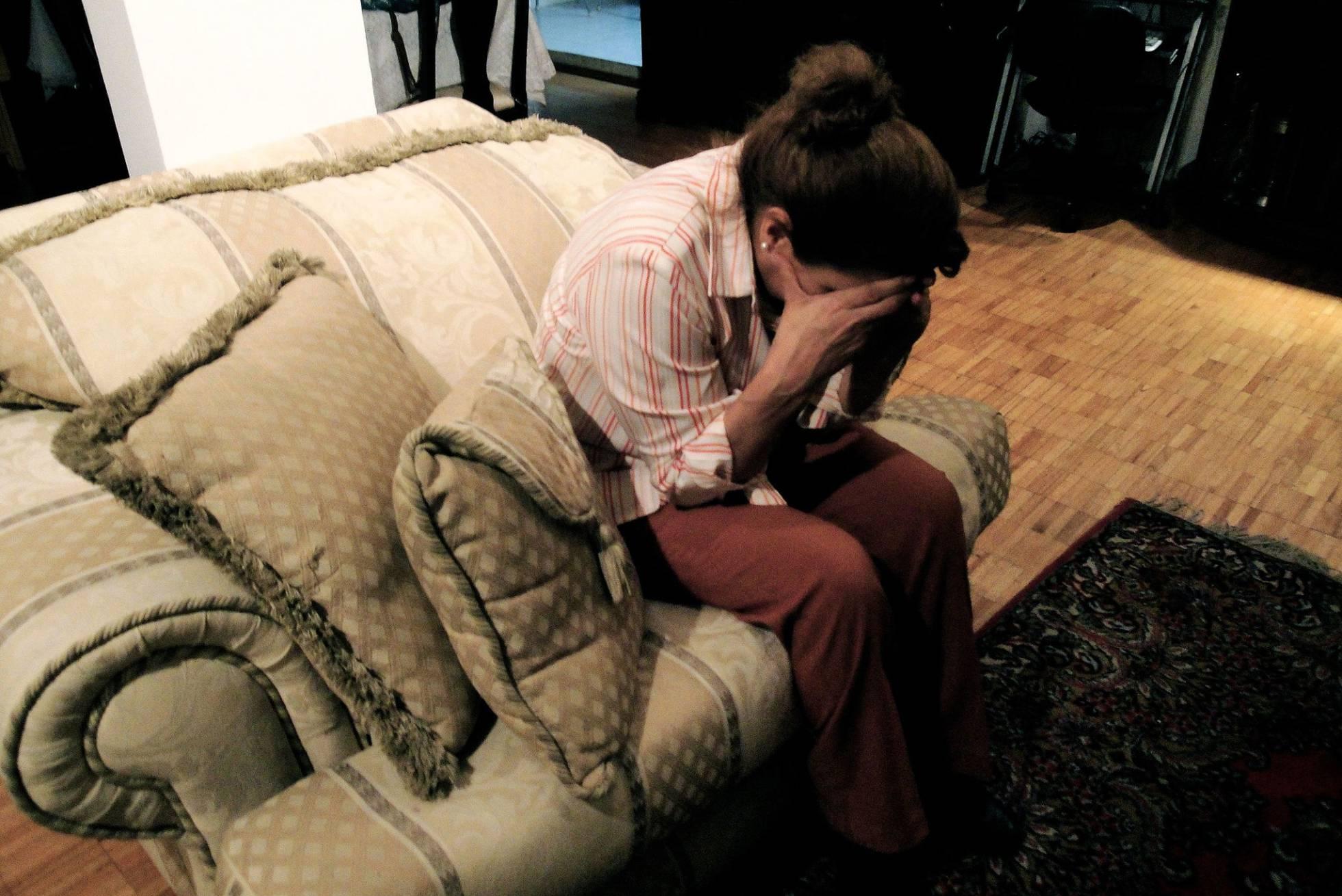 Una dona amb un trastorn emocional. Iraís Esparza Wikimedia Commons)