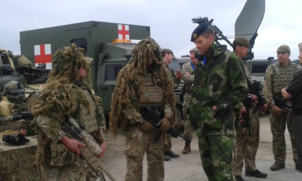 Maniobras de la OTAN en Polonia.