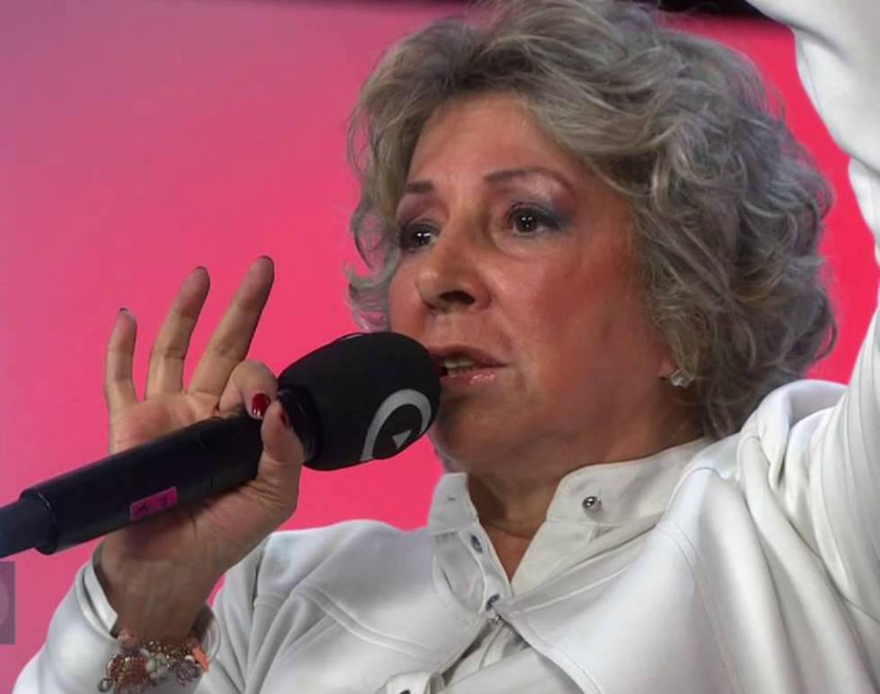 La cantante colombiana Vicky, en un reciente concierto.