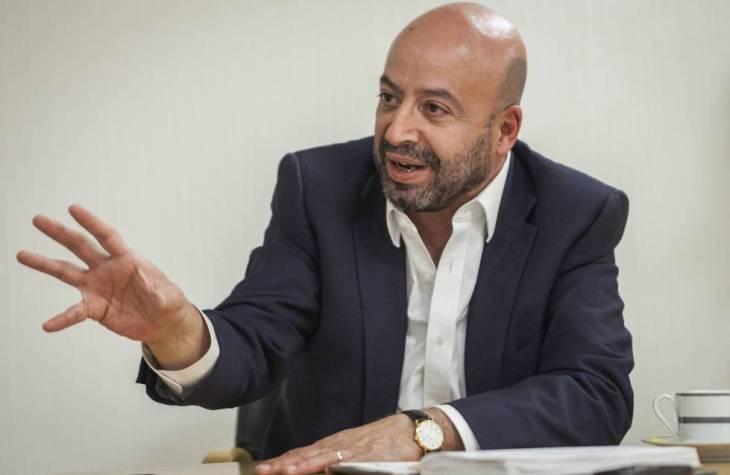 Renato Sales, durante la entrevista.