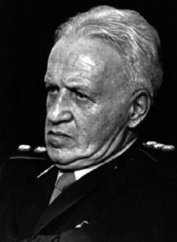 Galtieri en 1984, durante el juicio a la Junta Militar.