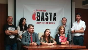 Anuncio de la huelga de enfermeros portugueses.