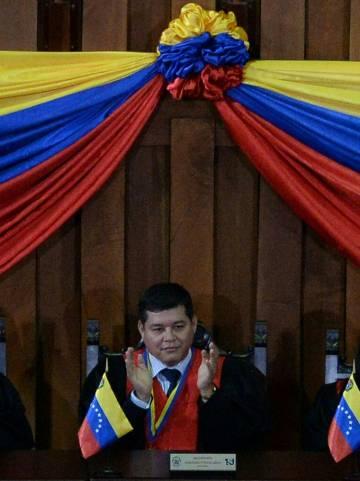 Christian Zerpa, magistrado de la Sala Electoral del Tribunal Supremo de Justicia de Venezuela, en febrero de 2018.
