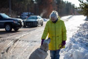 Jeanne Nutter, la vecina que encontró a Jayme cuando paseaba con su perro.