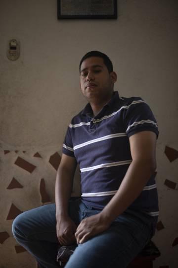 Julio Camargo, de 25 años, vecino de Cotiza.