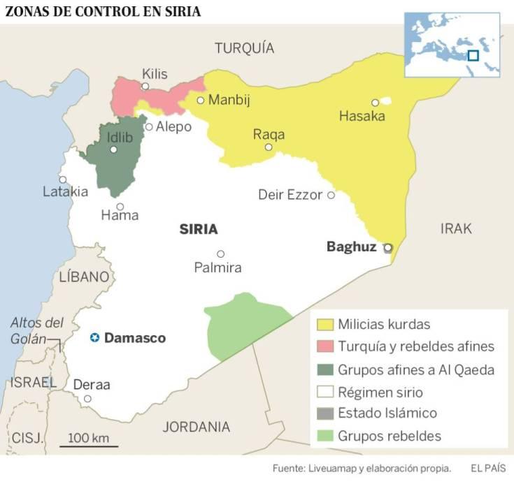 Más de 2.000 personas son evacuadas del principal reducto del ISIS en Siria