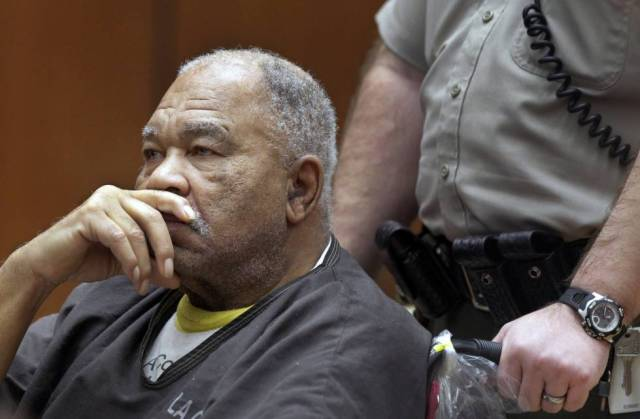 Samuel Little, during the trial against him in Los Angeles in 2013.