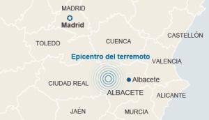 Terremoto en Albacete