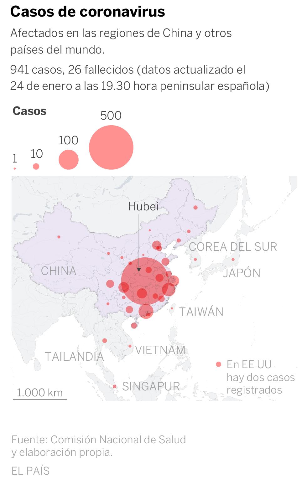 Virus de Wuhan: China amplía la cuarentena a 41 millones de ...