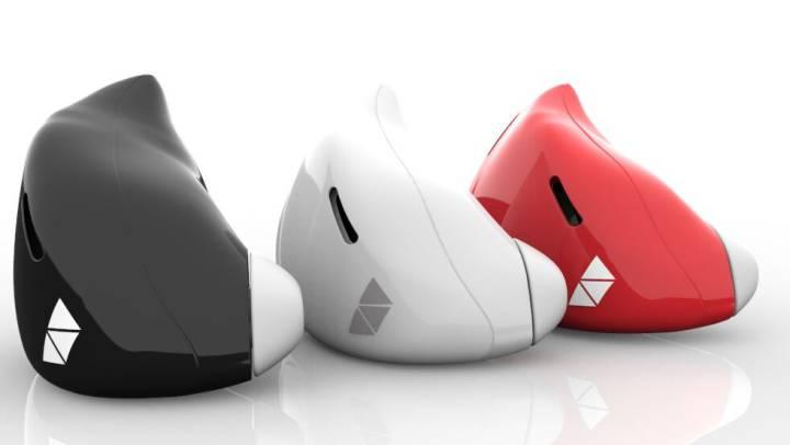Foto: El País | Los auriculares de Pilot son de una sola pieza, en colores a elegir por el usuario.