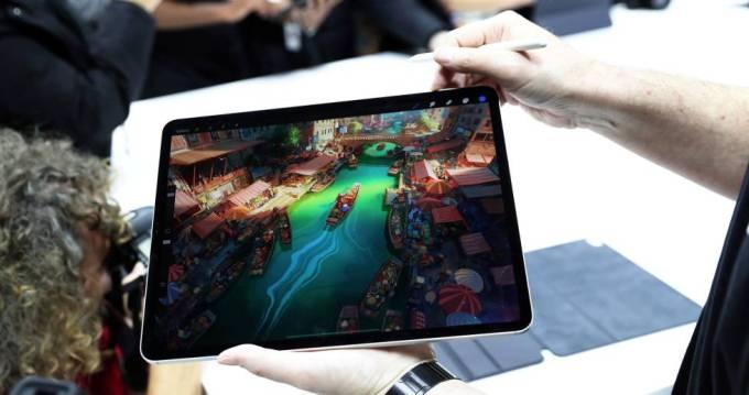 Muestra de las posibilidades gráficas del iPad Pro.