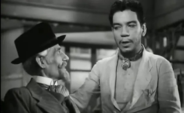 & # 039; Cantinflas & # 039 ;, played by Mario Moreno, represented & # 039; peladito & # 039 ;, a precursor of the stereotype of naco, according to Carlos Monsiva & iacute; s.  Frame from & # 039; If I Were a Deputy & # 039;  (1952) by Miguel M. Delgado