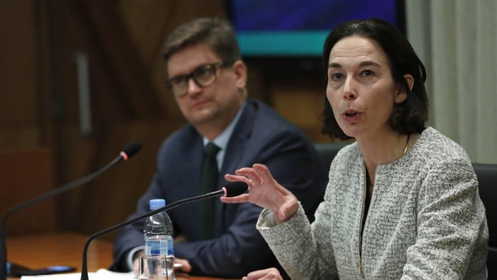 La jefa de la misión del FMI para España, Andrea Schaechter JIM WATSON (AFP) / EPV