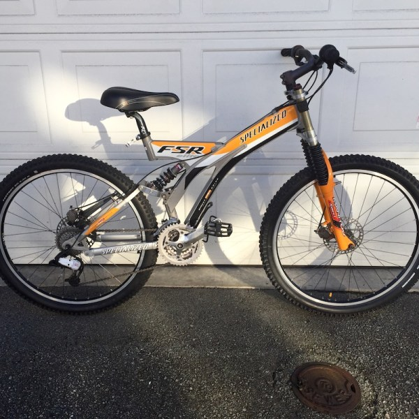 1999 Specialized Mountain Bike - Year of Clean Water