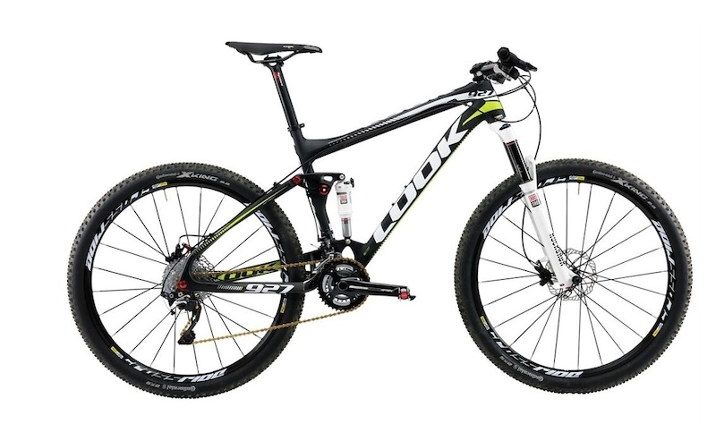 2015 Look 927 27.5 Full Suspension Shimano XT size Large