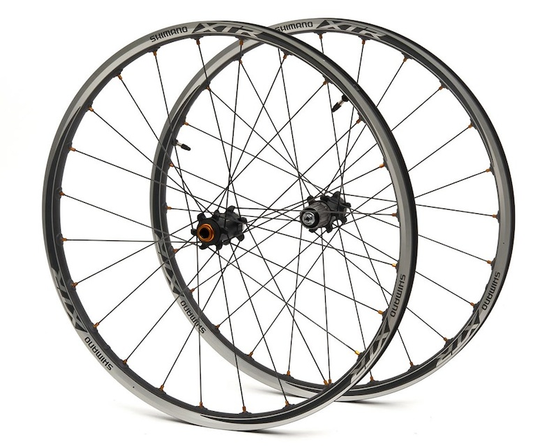 2014 Shimano XTR WH-M988 Tubeless Wheel Set (F15/QR) For Sale