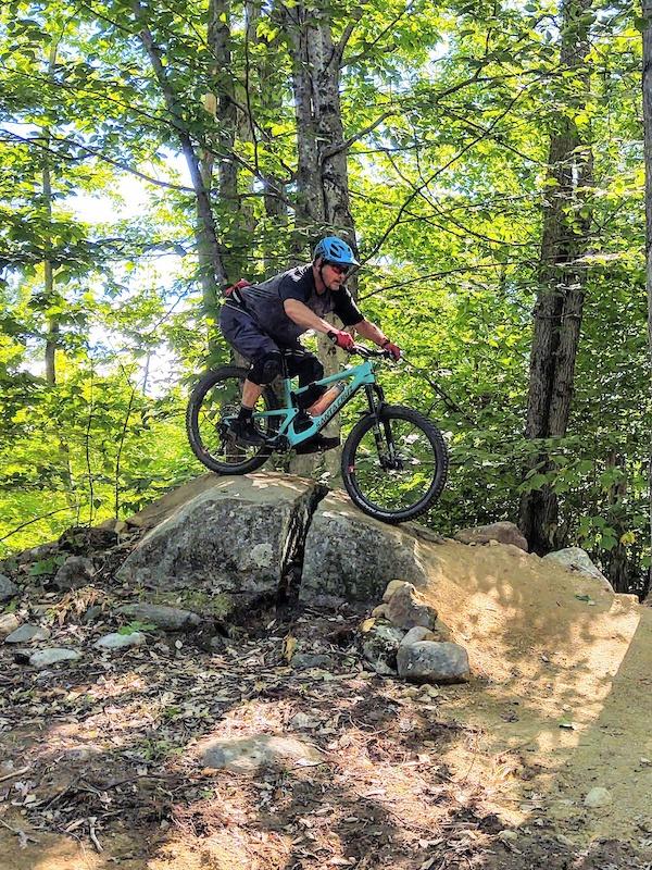 Tribute Mountain Biking Trail - Bethel. Maine