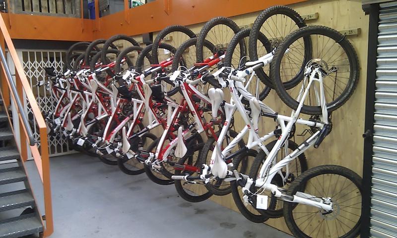 2012 Chevy Cruze Bike Rack