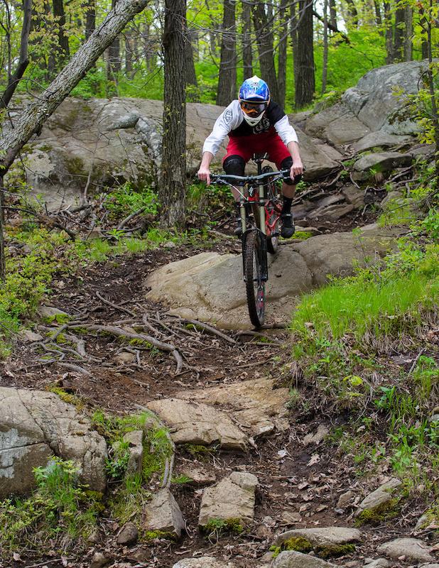 Exodus Mountain Bike Trail - Mountain Creek Bike Park. Vernon
