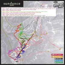 Bell Enduro Cup Sundance Map Announced - Pinkbike