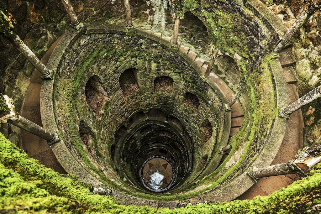 The well at Quinta da Regaleira