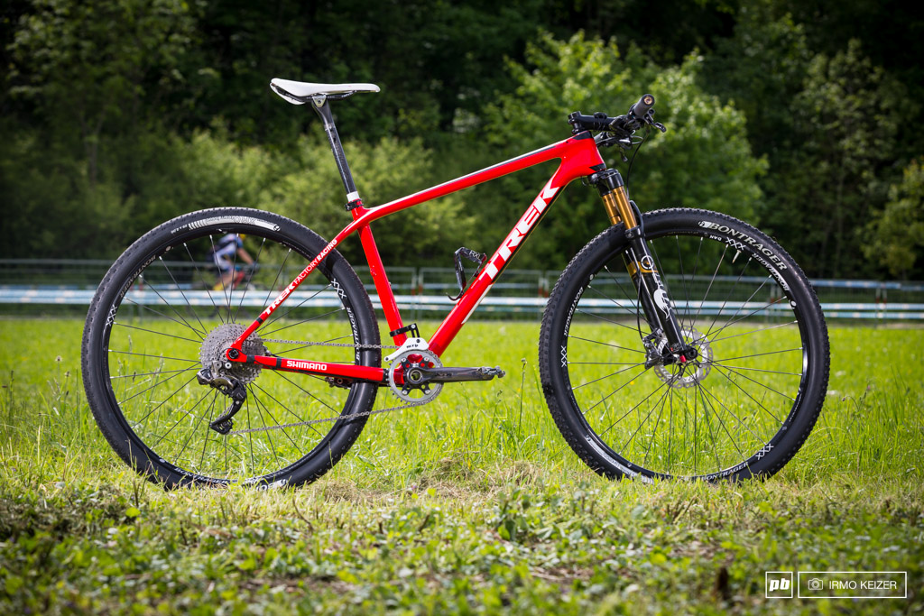 It must be Christmas. Last week Dan McConnell of Trek Factory Racing rode his new XTR M9000 only to find his new electric toys ready and waiting for him now.
